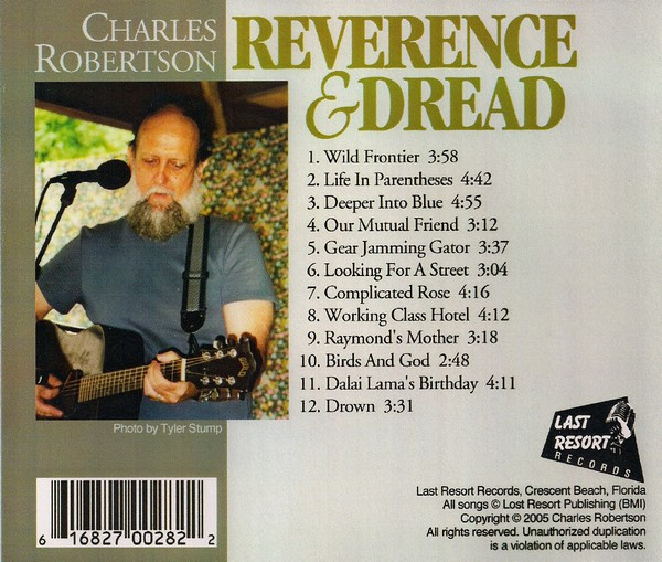 reverence and dread back cover